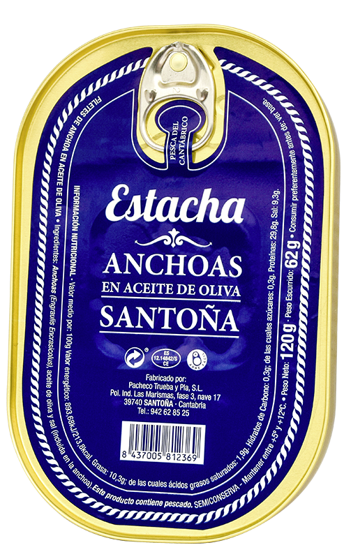 Anchoas de Santoña - Conservas Estacha